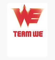 Team World Elite vectorized Photographic Print