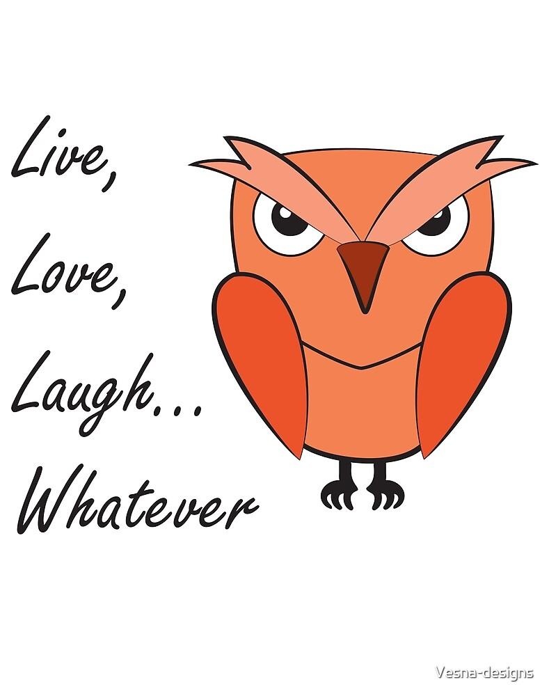 Sarcastic owl by Vesna-designs
