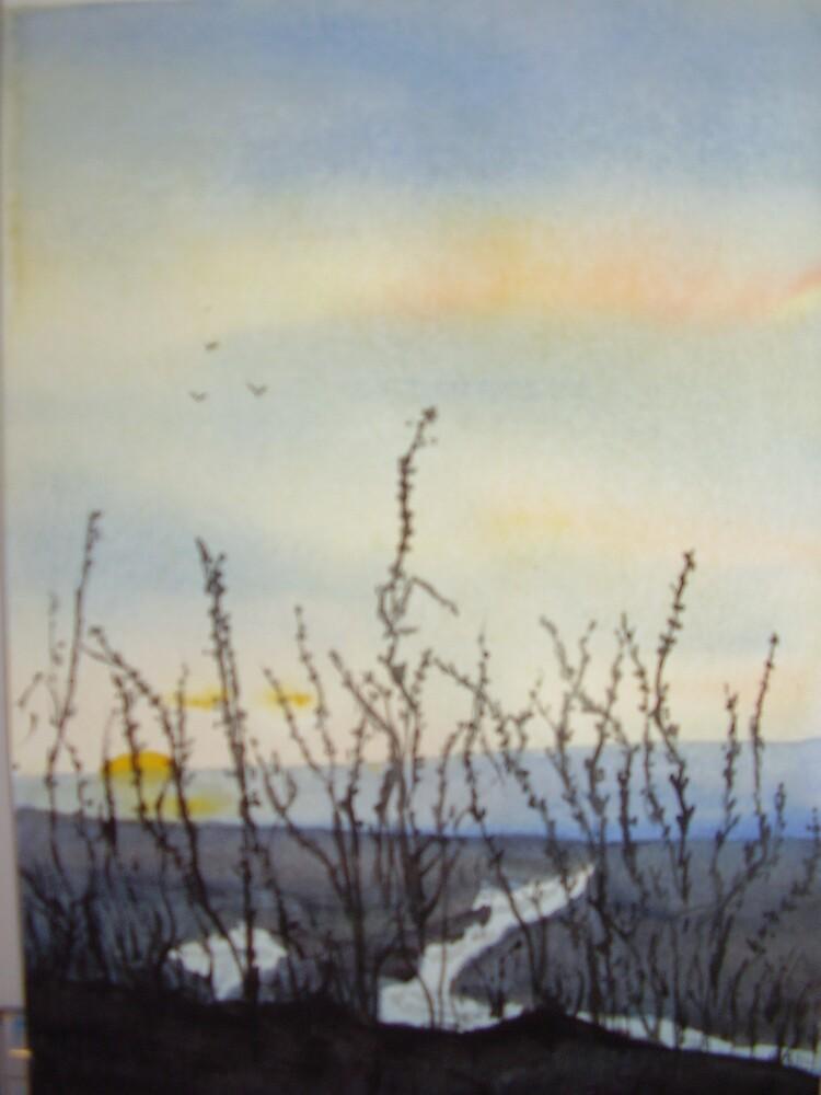 DAWN ON THE MARSH by GEORGE SANDERSON