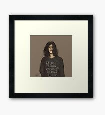 If Lost Framed Print