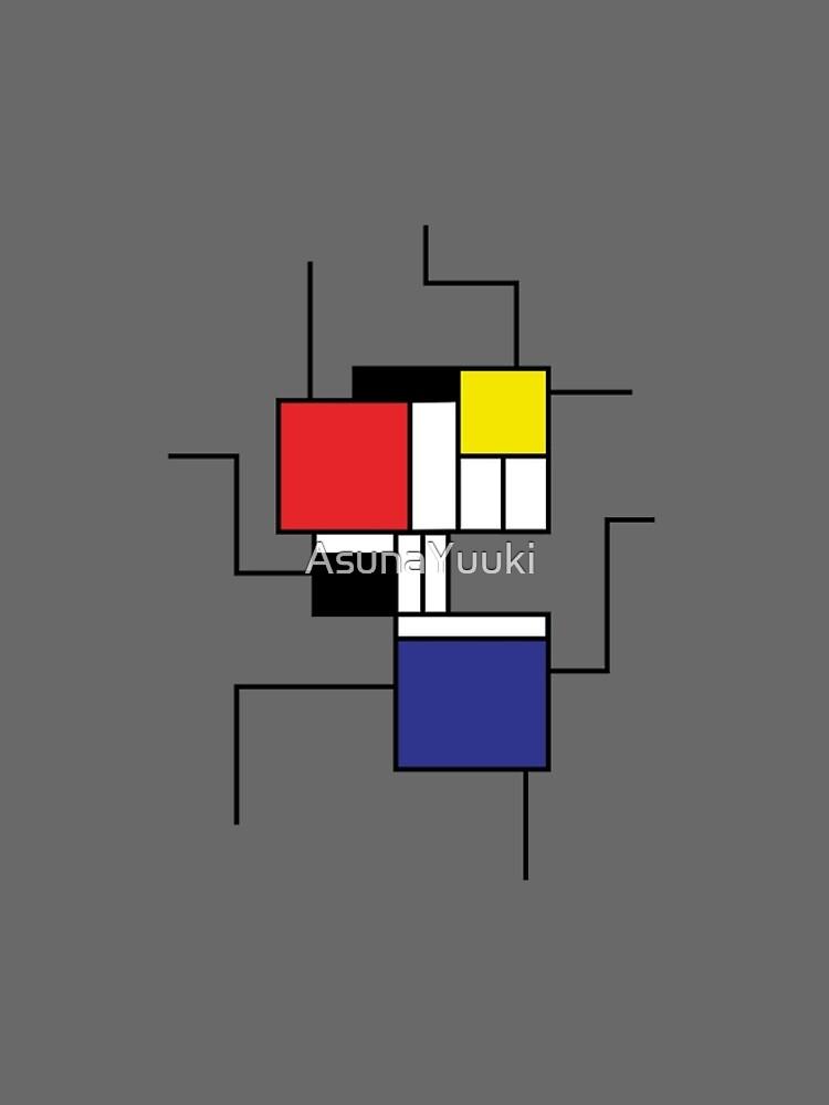 Mondrian style by AsunaYuuki
