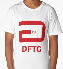 Don't Feed the Gamers Official Logo (DFTG) Long T-Shirt
