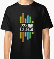 I Love Dubstep - Electronic Dance Music Classic T-Shirt