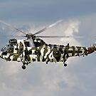Royal Navy Westland Sea King HC4 by Andrew Harker