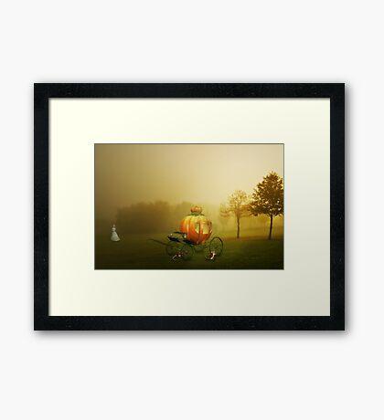 Runaway Fairytale Framed Print