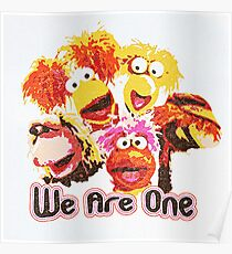 we are one Poster