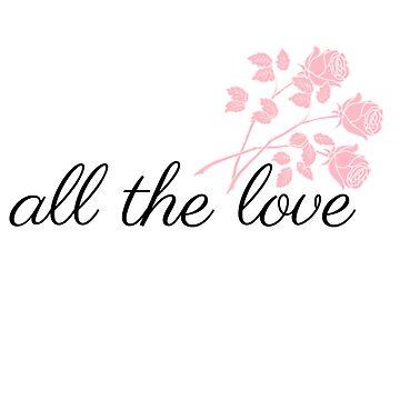 all the love roses by wishforlondon
