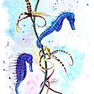 « Hippocampes et Orchidées » par cindybarillet