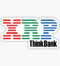 Ripple X IBM ThinkBank - Cryptoboy Sticker