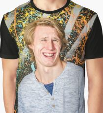 Funny guy laughing Graphic T-Shirt