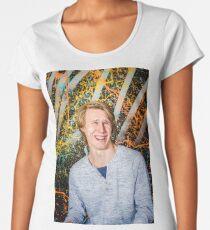 Funny guy laughing Women's Premium T-Shirt