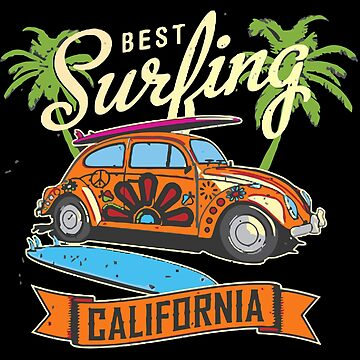 California Surfing by prunellaauger