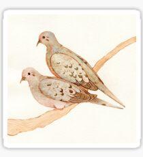 Mourning Doves Sticker
