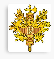France Coat Of Arms  Canvas Print