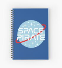 Space Pirate Spiral Notebook