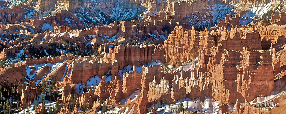 Bryce Canyon - Colour print by sideways