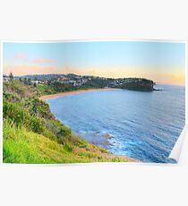 Bungan- Bungan Head Sydney Beaches - The HDR Series - Sydney, Australia Poster