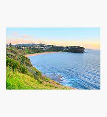 Bungan- Bungan Head Sydney Beaches - The HDR Series - Sydney, Australia Photographic Print
