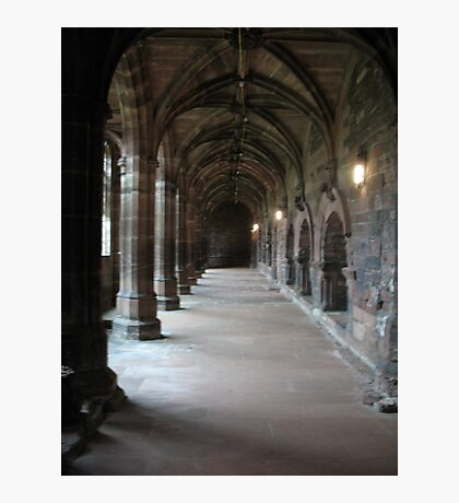 Chester Cloisters Photographic Print