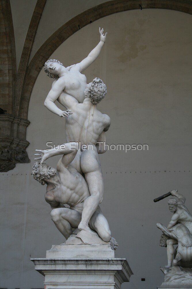 Gallery of Statues by Sue Thompson