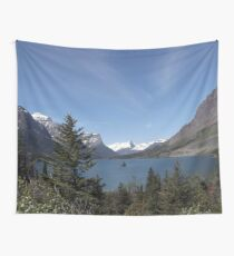 Saint Mary Lake (Glacier National Park) Wall Tapestry