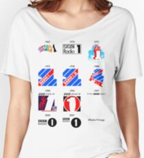 Radio 1 Vintage Women's Relaxed Fit T-Shirt