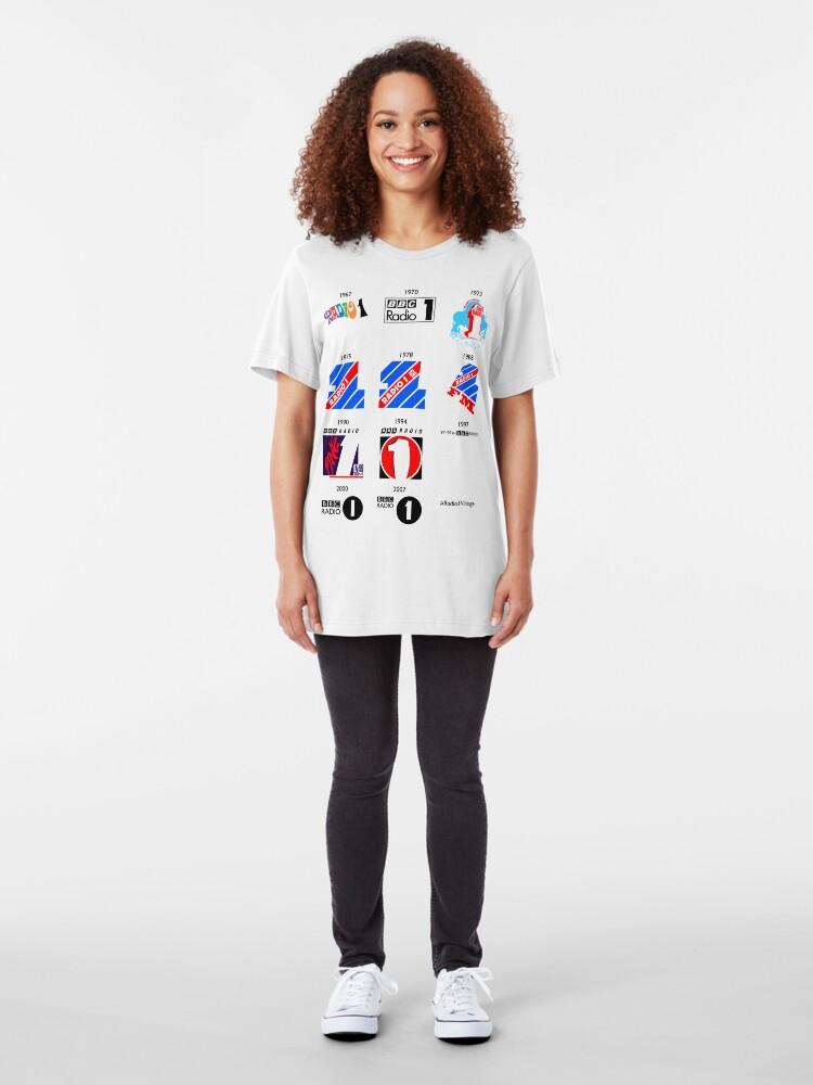 Alternate view of NDVH Radio 1 Vintage Slim Fit T-Shirt