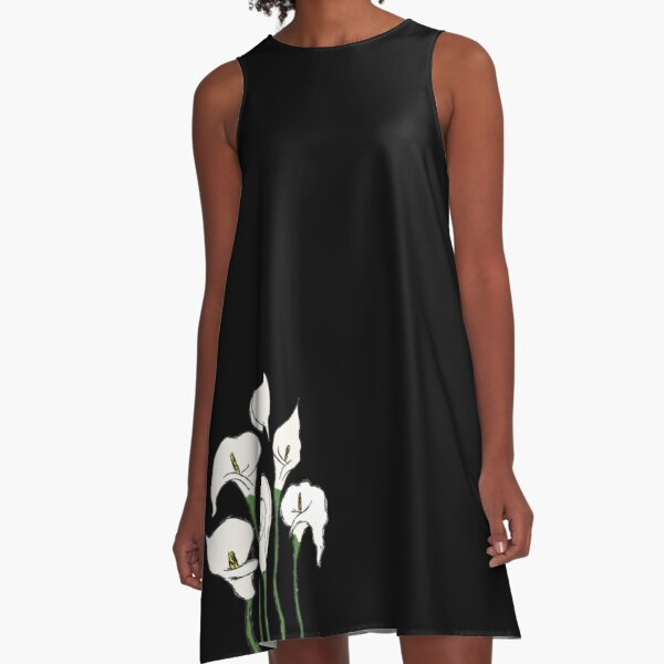 Calla Lillies A-Line Dress