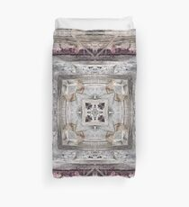 Pretty Pink Tinged Aztec Inspired Pattern Duvet Cover