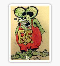 rat fink Sticker