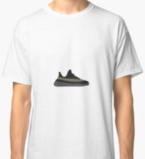 Yeezy Boost 350 v2 Olive Green and Black Classic T-Shirt