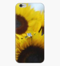 Bride's Engagement Ring + Flowers iPhone Case