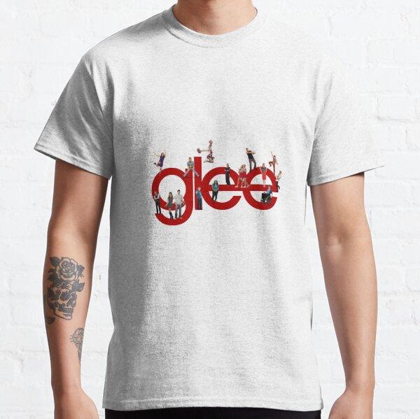 glee logo with the cast T-shirt classique