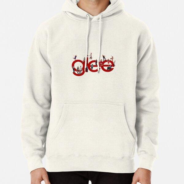 logotipo de Glee con el elenco Sudadera con capucha