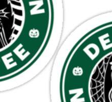 Jack and Sally Coffee Mini Sticker Pack Sticker