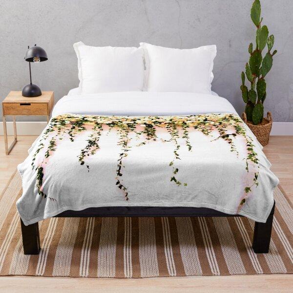 Enchanting Floral Throw Blanket