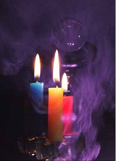 Crystal Ball and Candlelight by Evita