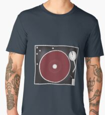 Vintage Turntable Men's Premium T-Shirt