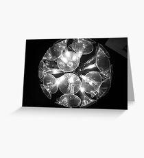ball of light Greeting Card