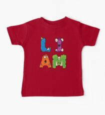 "My Little Monsters - Boys Names ""LIAM"" kids t-shirt Kids Clothes"