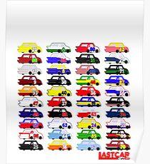 LASTCAR.info - Famous Cars Poster