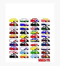 LASTCAR.info - Famous Cars Photographic Print