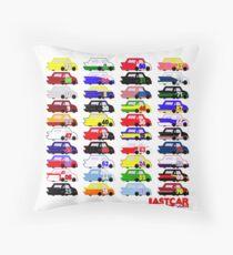 LASTCAR.info - Famous Cars Throw Pillow