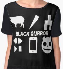 Black Mirror Chiffon Top