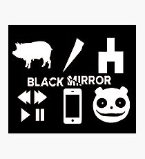 Black Mirror Photographic Print