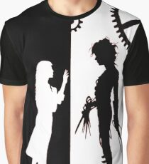 Edwards Scissorhands and Kim Boggs Graphic T-Shirt