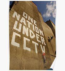 Banksy - One Nation Under CCTV Poster