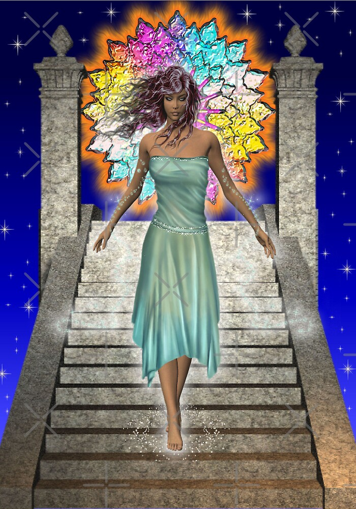 The Goddess Syrania by LoneAngel