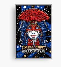 Widespread Panic up all  night coffee  Canvas Print