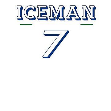 Kimi Raikkonen The Iceman by VVdesigns